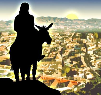 Il n'en restera pas pierre sur pierre dans Communauté spirituelle jesus_donkey
