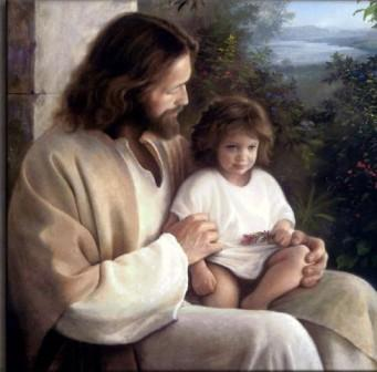 Jesus_with_little_one