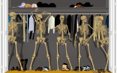 Skeletonsincloset