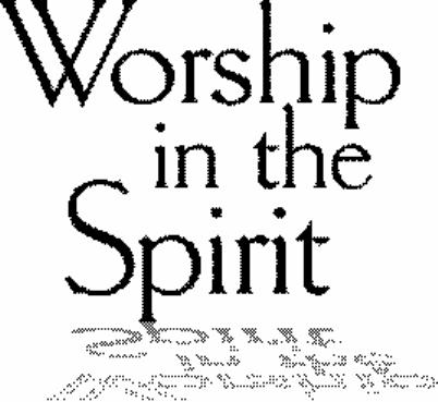 Worshipinthespirit